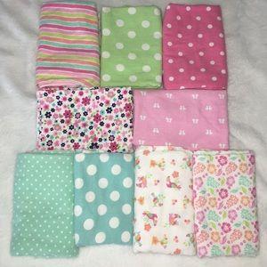 🌼Baby Blankets Bundle of 9🌼